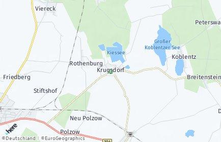 Stadtplan Krugsdorf