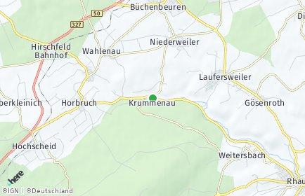 Stadtplan Krummenau