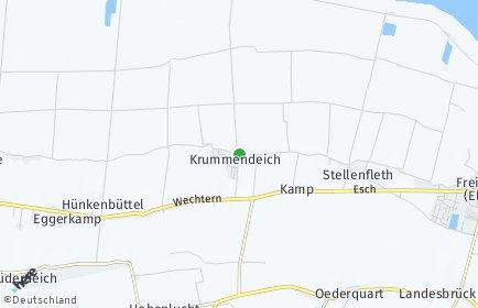 Stadtplan Krummendeich