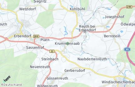 Stadtplan Krummennaab
