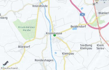 Stadtplan Krummesse