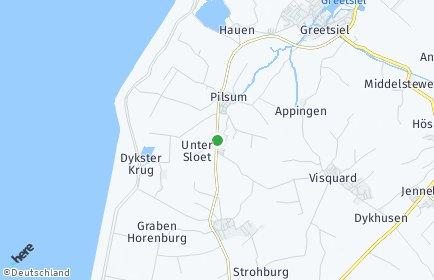 Stadtplan Krummhörn