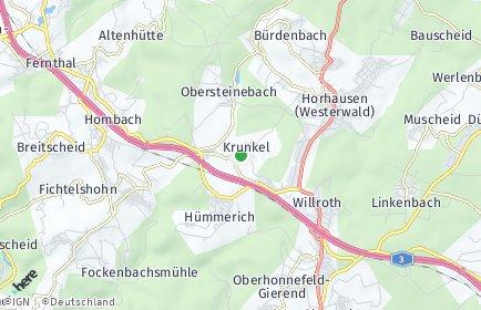 Stadtplan Krunkel