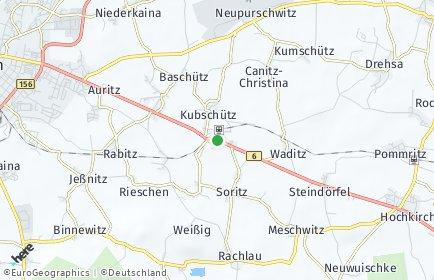 Stadtplan Kubschütz