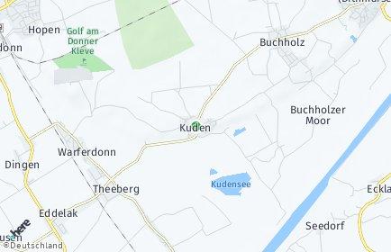 Stadtplan Kuden