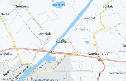 Stadtplan Kudensee