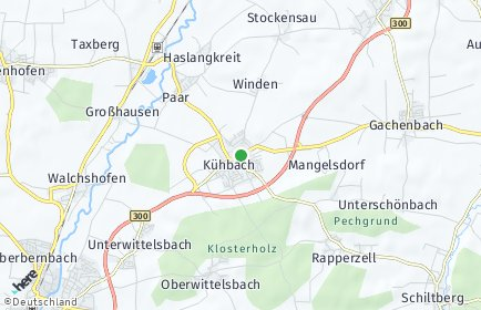 Stadtplan Kühbach