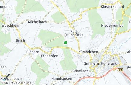 Stadtplan Külz (Hunsrück)