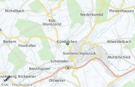 Stadtplan Kümbdchen