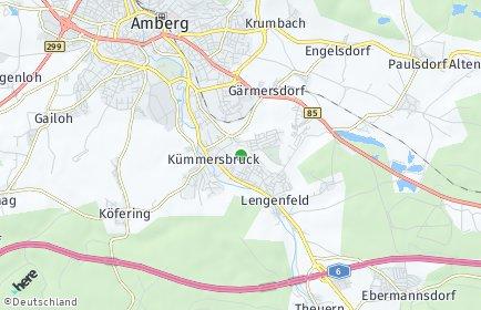 Stadtplan Kümmersbruck