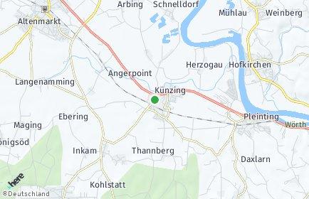 Stadtplan Künzing