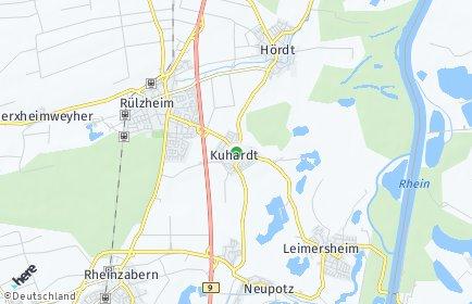 Stadtplan Kuhardt