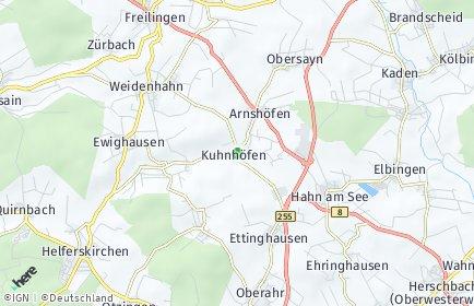 Stadtplan Kuhnhöfen