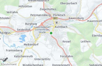 Stadtplan Kulmbach OT Seidenhof
