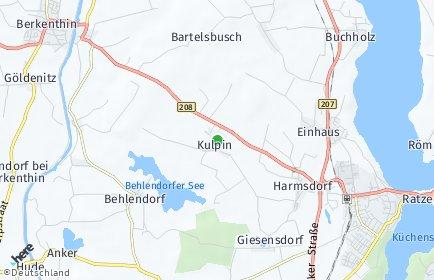 Stadtplan Kulpin