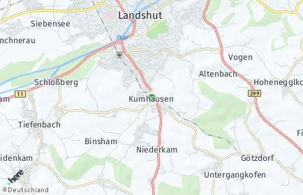 Stadtplan Kumhausen