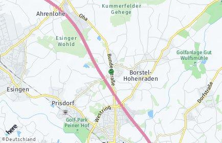 Stadtplan Kummerfeld