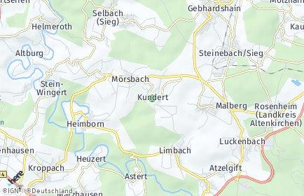 Stadtplan Kundert