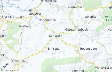 Stadtplan Kunreuth