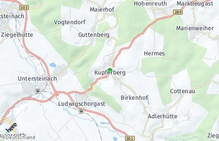 Stadtplan Kupferberg