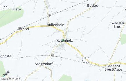 Stadtplan Kutenholz