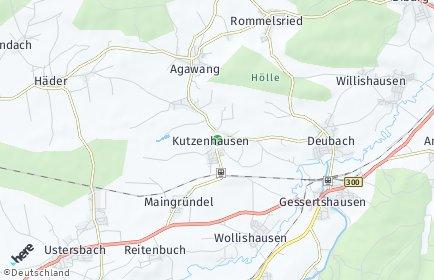 Stadtplan Kutzenhausen