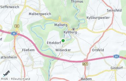 Stadtplan Kyllburg