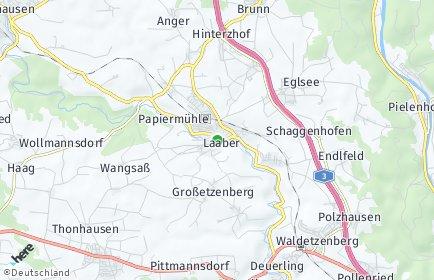 Stadtplan Laaber