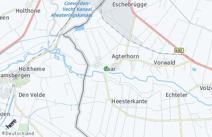 Stadtplan Laar