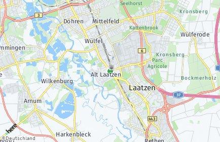 Stadtplan Laatzen