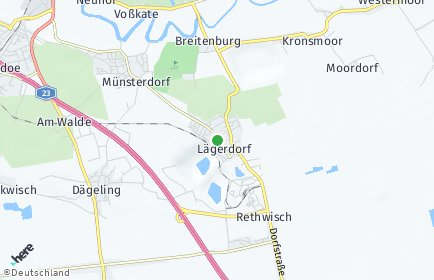 Stadtplan Lägerdorf