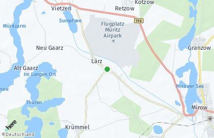 Stadtplan Lärz