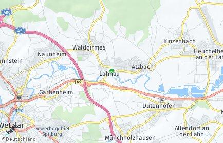 Stadtplan Lahnau