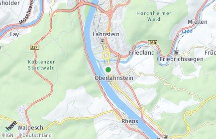 Stadtplan Lahnstein