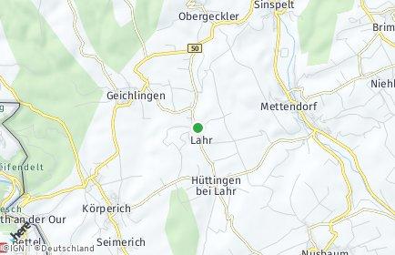 Stadtplan Lahr (Eifel)