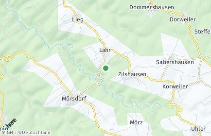 Stadtplan Lahr (Hunsrück)