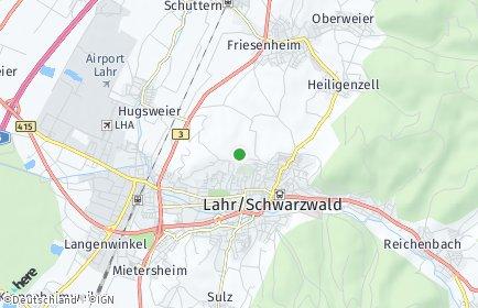 Stadtplan Lahr/Schwarzwald