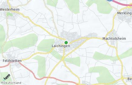 Stadtplan Laichingen