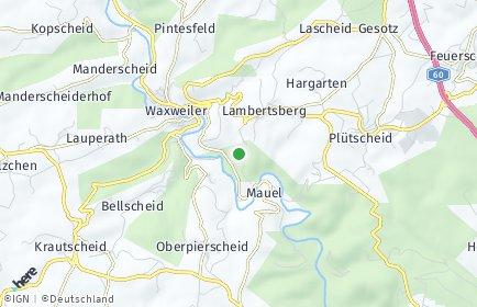 Stadtplan Lambertsberg