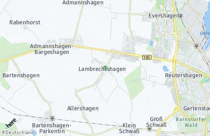 Stadtplan Lambrechtshagen