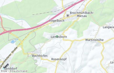 Stadtplan Lambsborn
