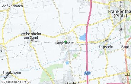 Stadtplan Lambsheim