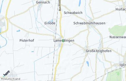 Stadtplan Lamerdingen