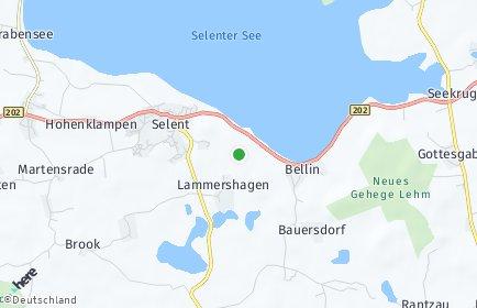 Stadtplan Lammershagen