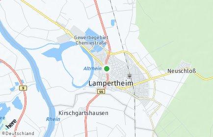 Stadtplan Lampertheim
