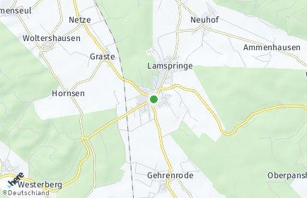 Stadtplan Lamspringe