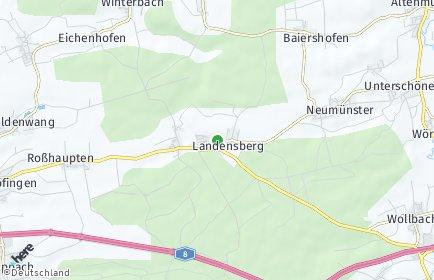 Stadtplan Landensberg