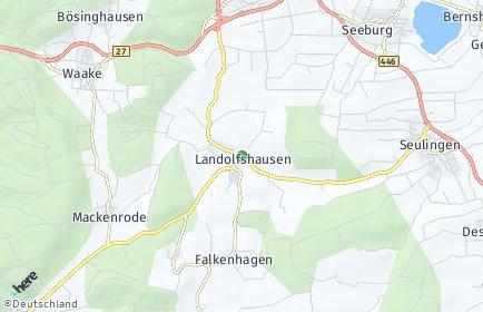Stadtplan Landolfshausen