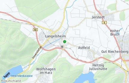 Stadtplan Langelsheim