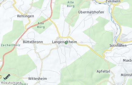 Stadtplan Langenaltheim